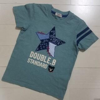 ダブルビー(DOUBLE.B)のミキハウス ダブルビー ペイズリー 100(Tシャツ/カットソー)