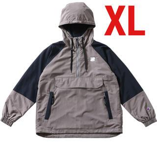 アンディフィーテッド(UNDEFEATED)のアンディフィーテッド アノラック グレー XL(ナイロンジャケット)