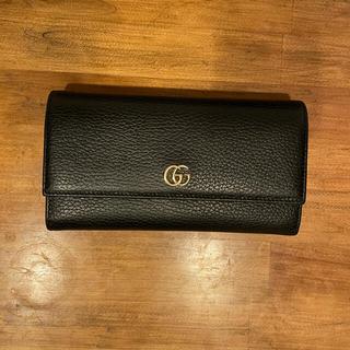 グッチ(Gucci)のGUCCI マーモント レザーコンチネンタルウォレット(財布)