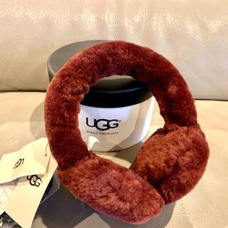 アグ(UGG)のUGGアグオーストラリアスピーカー内蔵耳あてイヤーマフラーヘッドホンシープスキン(イヤーマフ)