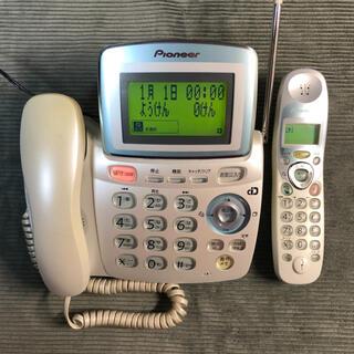 パイオニア(Pioneer)のパイオニア コードレス電話機 TF-CV320(その他)