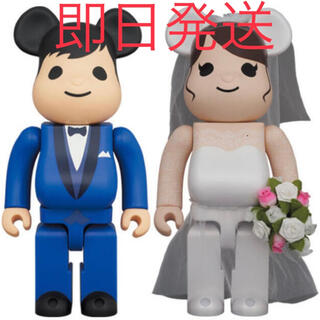 メディコムトイ(MEDICOM TOY)のBE@RBRICK グリーティング結婚 4 PLUS 100% 400% セット(その他)