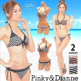 ピンキーアンドダイアン(Pinky&Dianne)の【新品】Pinky&Dianne 水着 ビキニ 黒(水着)