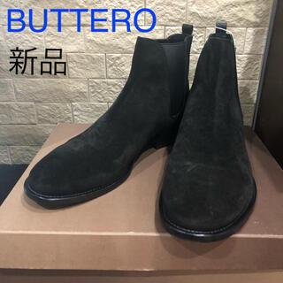 BUTTERO - 値下げ 新品 ブッテロ BUTTERO ショートブーツ ブーツ スエード メンズ
