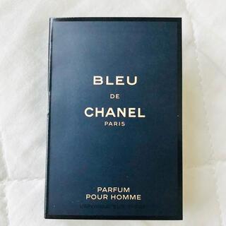 シャネル(CHANEL)のブルードゥシャネル EDT 1.5ml 正規サンプルスプレー シャネル香水(香水(男性用))
