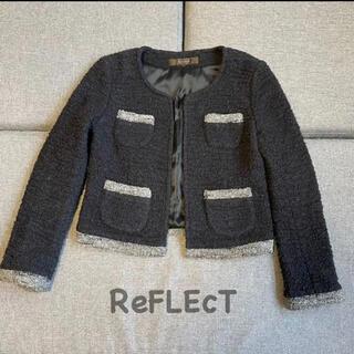 リフレクト(ReFLEcT)のReFLEcT リフレクト ノーカラー ジャケット(ノーカラージャケット)