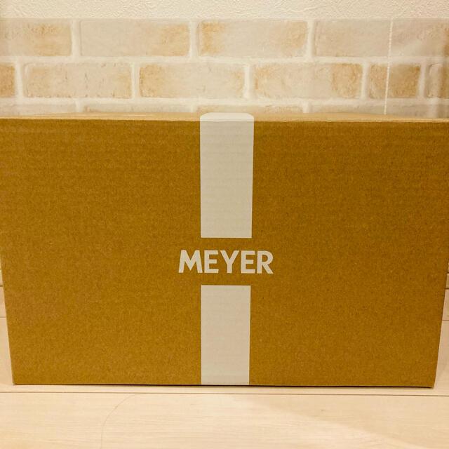 MEYER(マイヤー)の最終割引!マイヤー ナイス4ピース 18cm インテリア/住まい/日用品のキッチン/食器(鍋/フライパン)の商品写真