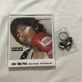 キスマイフットツー(Kis-My-Ft2)のKis-My-Ft2 「Everybody Go」藤ヶ谷太輔(アイドルグッズ)