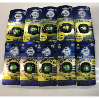 ピーアンドジー(P&G)のファブリーズ 車用 イージークリップ アクア&フレッシュミントの香り10個セット(車内アクセサリ)
