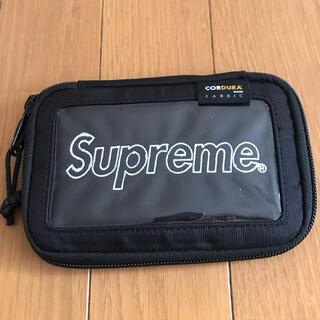 シュプリーム(Supreme)のSupreme small zip wallet ウォレット シュプリーム(折り財布)