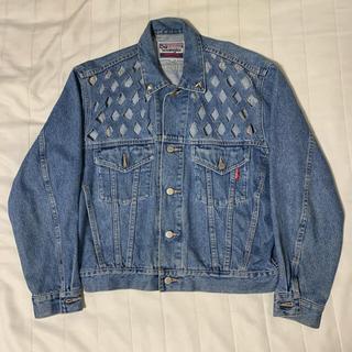 JOHN LAWRENCE SULLIVAN - wrangler custom denim jacket vintage