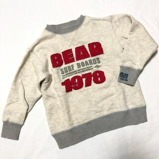 ベアー(Bear USA)の014▼BEAR▼アメリカンヴィンテージ♪ キッズトレーナー 130(Tシャツ/カットソー)