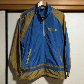 ウィルソン(wilson)の90s' Wilson Nylon 2way half zip jacket(ナイロンジャケット)