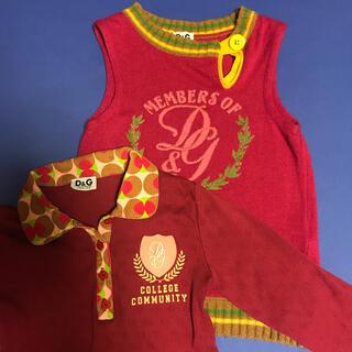 ドルチェアンドガッバーナ(DOLCE&GABBANA)のD&Gドルチェ&ガッパーナ ジュニア DOLCE & GABBANA サイズ8 (Tシャツ/カットソー)