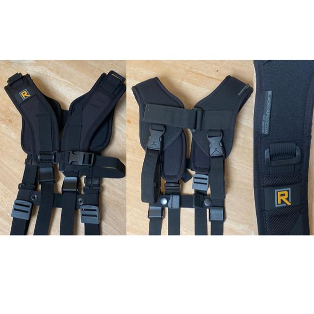 BLACKRAPID  一眼カメラ  2台持ち 速射ストラップ スマホ/家電/カメラのカメラ(その他)の商品写真