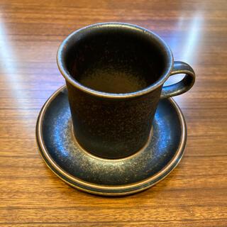 アラビア(ARABIA)のアラビア ルスカ RUSKA コーヒーカップ&ソーサー(グラス/カップ)