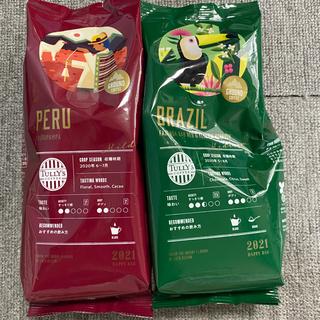 TULLY'S COFFEE - タリーズ レギュラーコーヒー(粉)2セット&コーヒチケット1枚