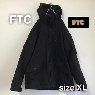 エフティーシー(FTC)のFTC エフティーシー モッズコート ミリタリージャケット XL ブラック 黒(ミリタリージャケット)