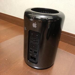 Macpro 2013 12コア/16GB/256GB/外付けSSD 512GB(デスクトップ型PC)
