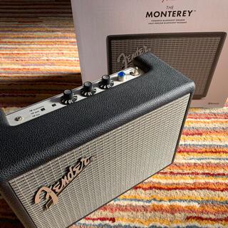 フェンダー(Fender)のFender MONTEREY Bluetooth Speaker Black(スピーカー)