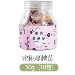 中国茶 ピーチクランベリー茶(茶)