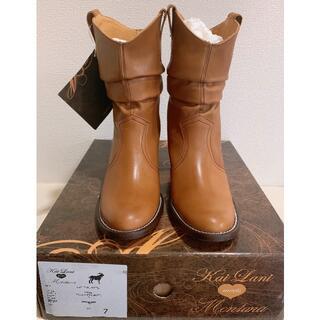 カイラニ(Kai Lani)のカイラニ ×モンタナ ルーズショートブーツ ウエスタンブーツ(ブーツ)