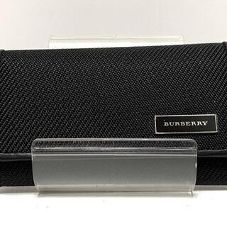 バーバリー(BURBERRY)のバーバリー キーケース美品  黒 4連フック(キーケース)