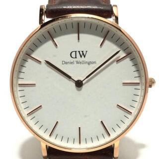 ダニエルウェリントン(Daniel Wellington)のダニエルウェリントン 腕時計 - B12(腕時計)