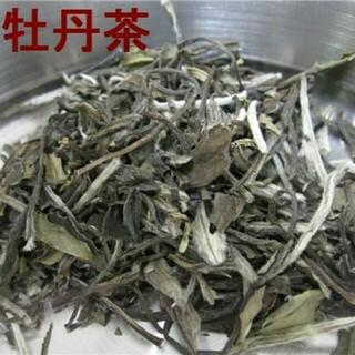 香港みやげ 中国銘茶と茶缶のセット 白牡丹茶2両(茶)