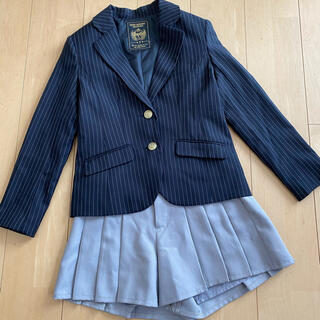 repipi armario - レピピアルマリオ 卒服 女の子 ネイビー ストライプ 紺 S(150くらい)