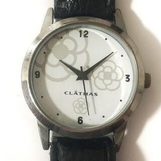 クレイサス(CLATHAS)のクレイサス 腕時計 - レディース 白(腕時計)