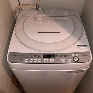 SHARP - ★KIHO様専用・中古美品 シャープ 7kg 洗濯機 SHARP ES-GE7D