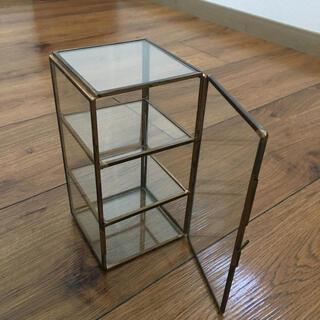 ウニコ(unico)のアンティーク ガラスケース(小物入れ)