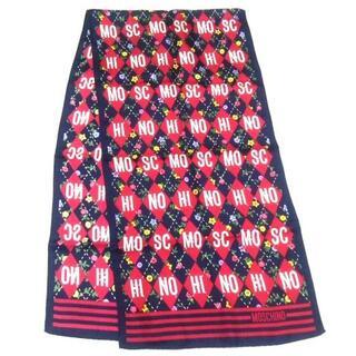 モスキーノ(MOSCHINO)のMOSCHINO(モスキーノ) スカーフ美品  -(バンダナ/スカーフ)
