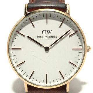 ダニエルウェリントン(Daniel Wellington)のダニエルウェリントン 腕時計 - 3ATM 白(腕時計)