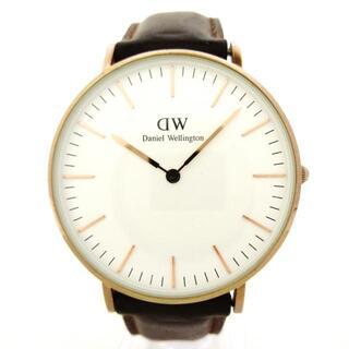 ダニエルウェリントン(Daniel Wellington)のダニエルウェリントン 腕時計 - レディース(腕時計)