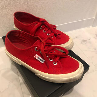 スペルガ(SUPERGA)のSUPERGA 赤色スニーカー(スニーカー)
