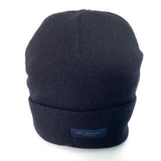 バーバリー(BURBERRY)のバーバリーロンドン ニット帽美品  -(ニット帽/ビーニー)