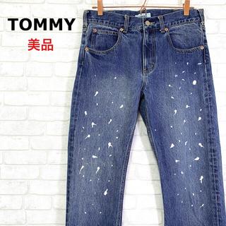 トミー(TOMMY)のTOMMY トミー ペンキ飛ばし デニムパンツ ストレート (デニム/ジーンズ)
