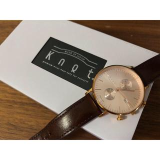 ノットノット(Knot/not)のknot CC-39RGRG(文字盤+ストラップ)(腕時計)