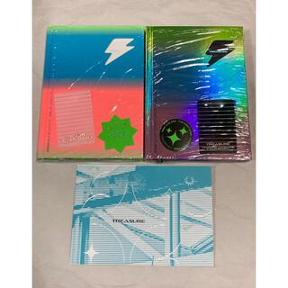 TREASURE CD THREE 白黒2枚セット(K-POP/アジア)