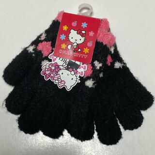 ハローキティ(ハローキティ)のハローキティ 手袋 新品タグ付き 送料込(手袋)