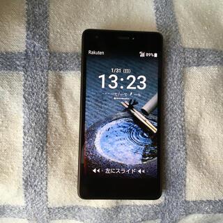 キョウセラ(京セラ)のUQモバイル おてがるスマホ01 simフリー(スマートフォン本体)
