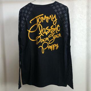 トミー(TOMMY)の古着 トミー 刺繍がオシャレなロンT◇TOMMY◇M-0030(Tシャツ/カットソー(七分/長袖))