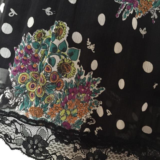 オレンジミュージック スカート レディースのスカート(ひざ丈スカート)の商品写真