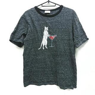 サンローラン(Saint Laurent)のサンローランパリ 半袖Tシャツ サイズXS -(Tシャツ(半袖/袖なし))