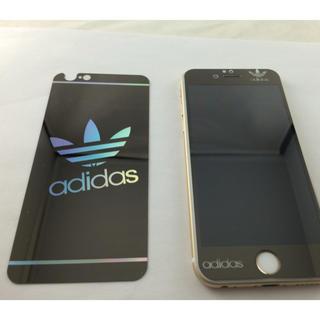 アディダス(adidas)の海外限定アディダス画面側のみ黒(保護フィルム)