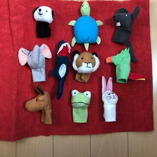 イケア(IKEA)の指人形 動物 (ぬいぐるみ/人形)