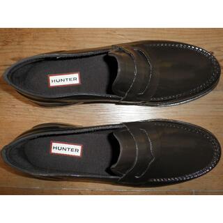 ハンター(HUNTER)のHUNTER ハンター リファインドグロス ペニーローファー(未使用)(長靴/レインシューズ)