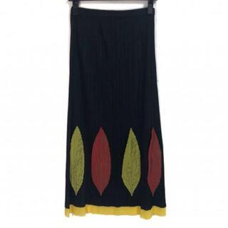 プリーツプリーズイッセイミヤケ(PLEATS PLEASE ISSEY MIYAKE)のプリーツプリーズ ロングスカート美品  -(ロングスカート)